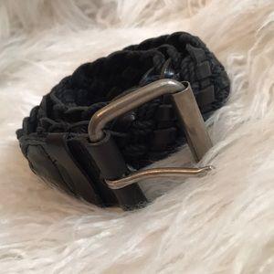 ☆ braided black belt ☆